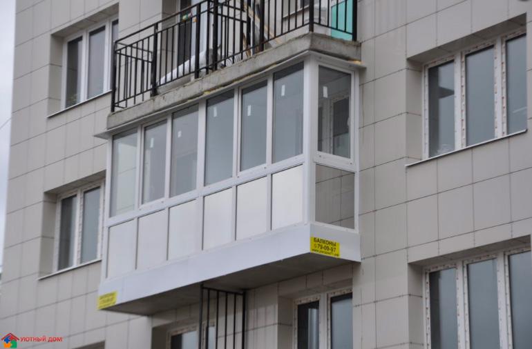 Евро балконы в туле - соломенные панели - теплый дом.